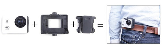 ActionCam Belt Clip