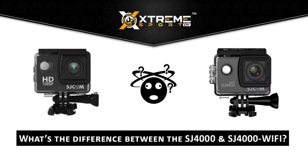 What's the difference between sjcam SJ4000 & SJ4000-wifi