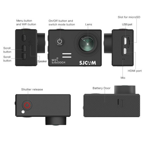 SJCAM SJ5000x Elite Action Camera Canada