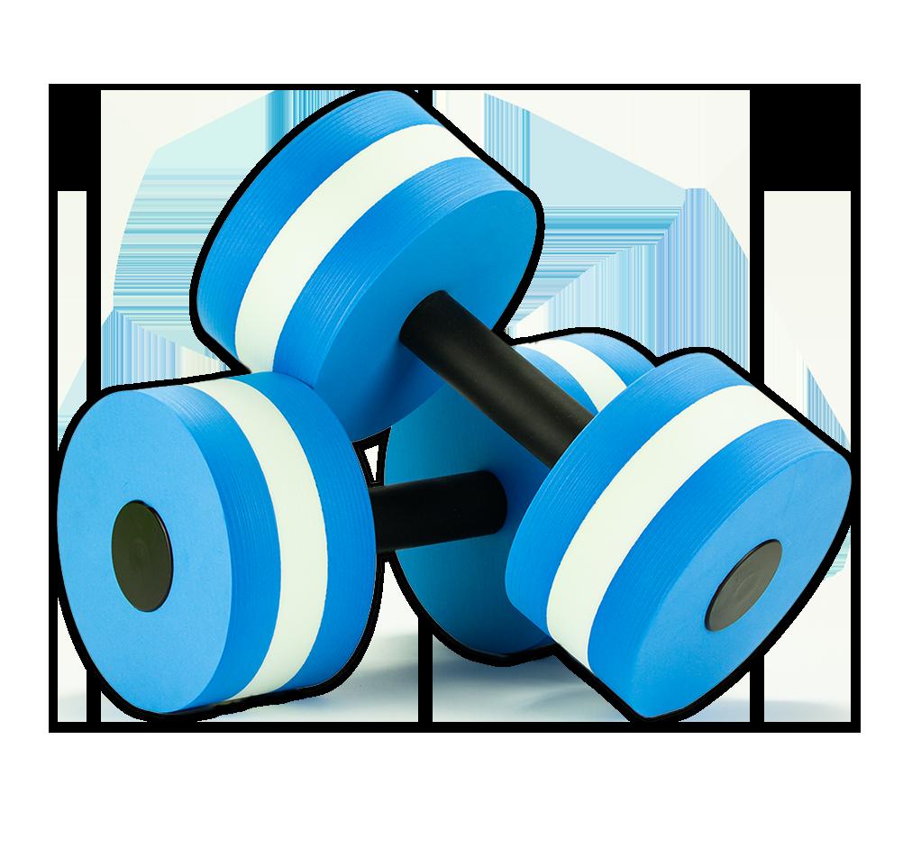 Aquatic Dumbbells Water Weights Set